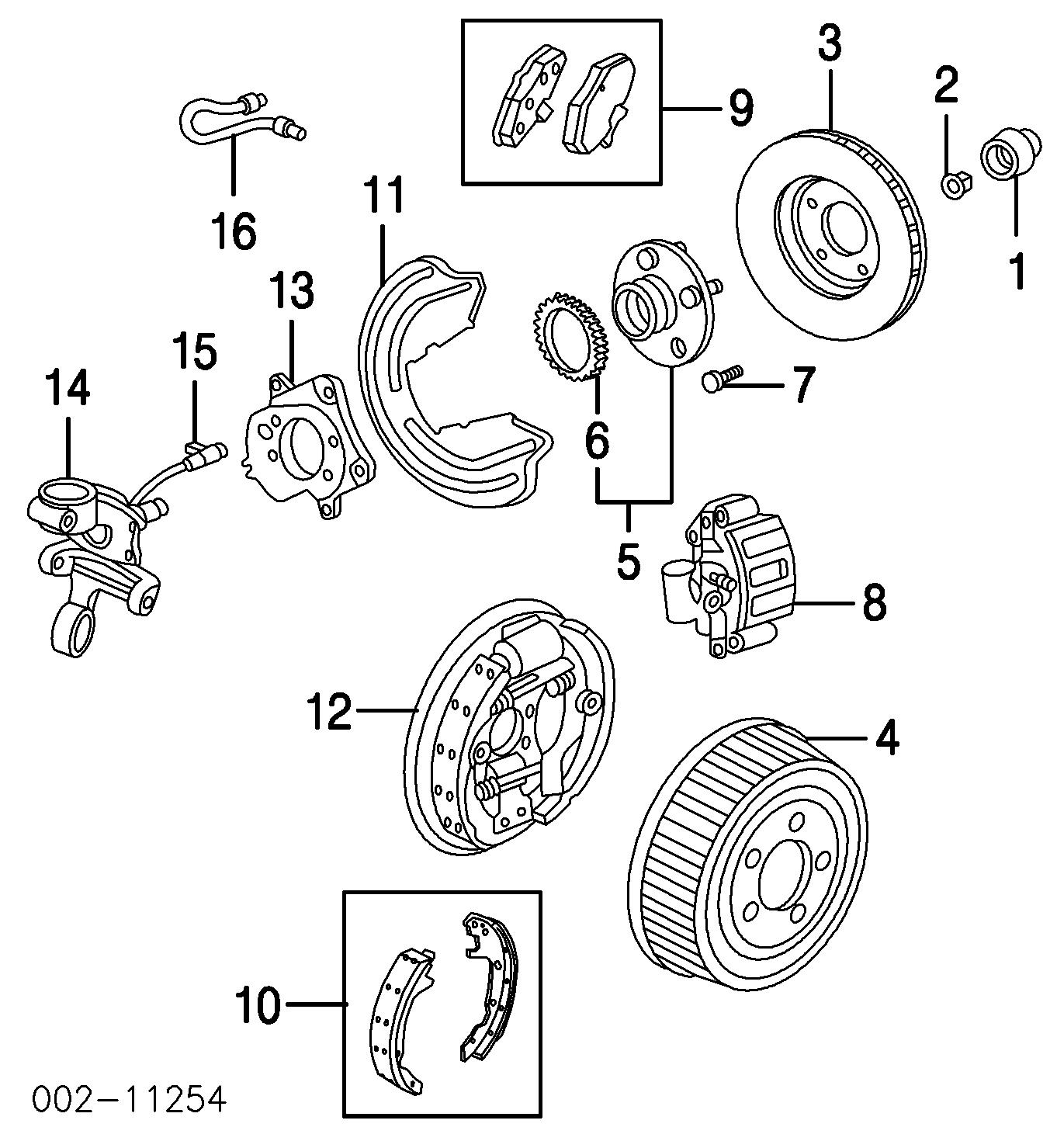 medium resolution of rear suspension