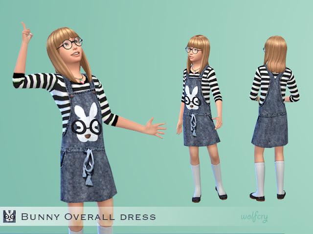 Vestido de contenido personalizado de la página Sims 4 Updates