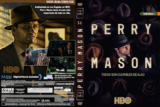 CARATULA PERRY MASON TEMPORADA 1 2020[COVER DVD]