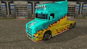 Mckays By Vince skin for Scania T