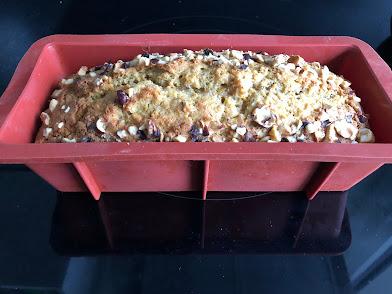Gâteau courge butternut-tonka après cuisson