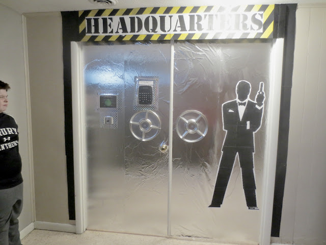 this is the entrance to the kids church area