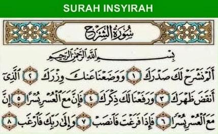 Surah Alam Nasroh