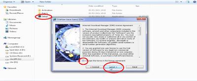 Ekstrak file dan Install