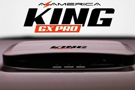 Azamerica King GX PRO Atualização V1.12 - 08/06/2021
