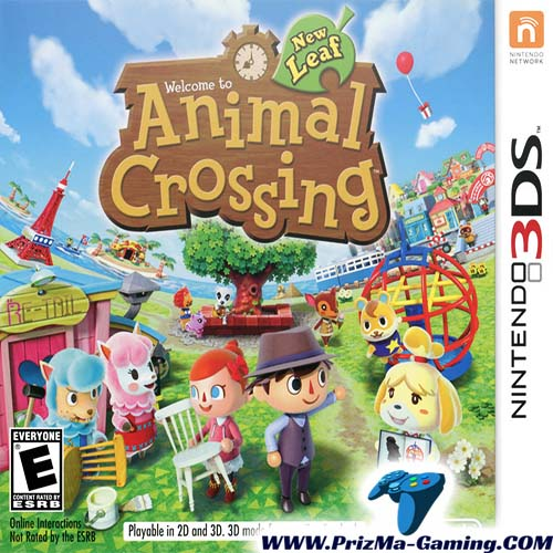Download Animal Crossing : New Leaf [Decrypted] ROM for