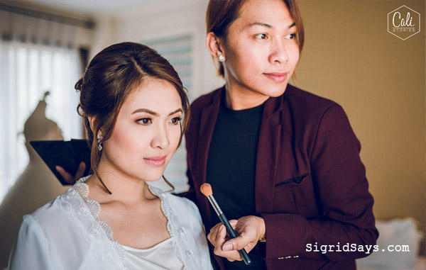 Bridal makeup by Gail Golez - Bacolod wedding suppliers