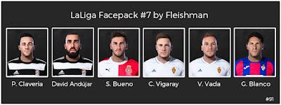 PES 2021 LaLiga Facepack #7 by Fleishman