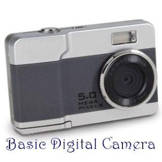 Basic digital camera