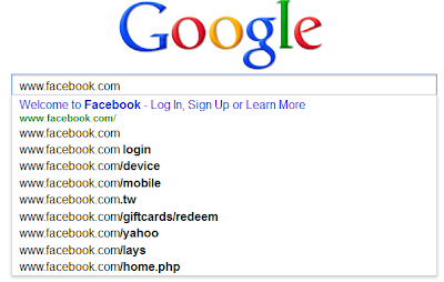Facebook Common Search