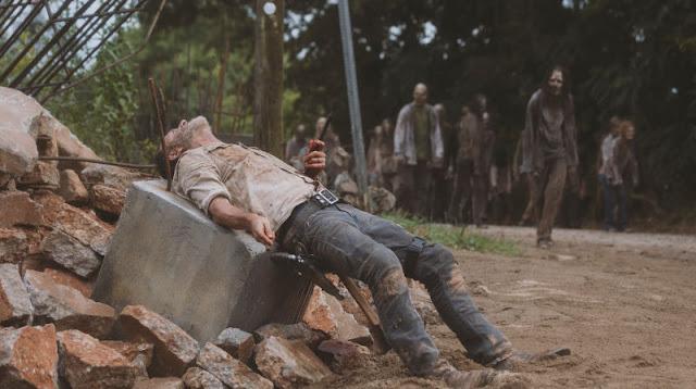 Rick Grimes (Andrew Lincoln) nell'episodio 5