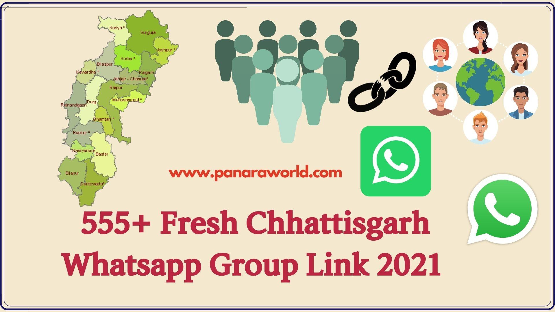 555+ Fresh Chhattisgarh Whatsapp Group Link 2021 | New Group Link