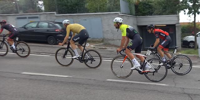 Jesús Robles (CC Crevillent), en la carrera de Sotto il Monte Giovanni