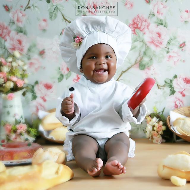 Book Bebê Cozinheira