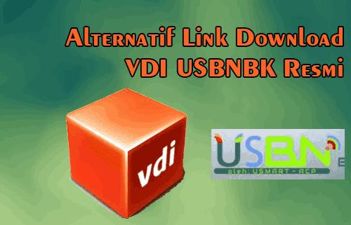 Daftar Link Download Alternatif  VDI Aplikasi USBNBK Resmi Terbaru