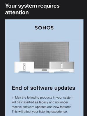 Sonos Dengan Cepat Berjalan Kembali Penghapusan Kontroversial dari Pembicara Lama