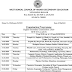 West Bengal Higher Secondary Examination Routine 2020