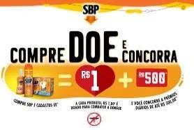 Cadastrar Promoção SBP Compre Doe Concorra Até 500 Reais Por Dia