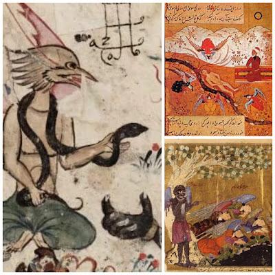 Ilustrasi Lukisan Iblis