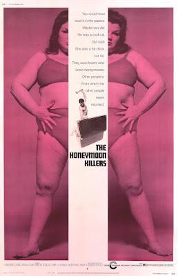 The Honeymoon Killers, 1970 ( Los Asesinos De La Luna De Miel) poster