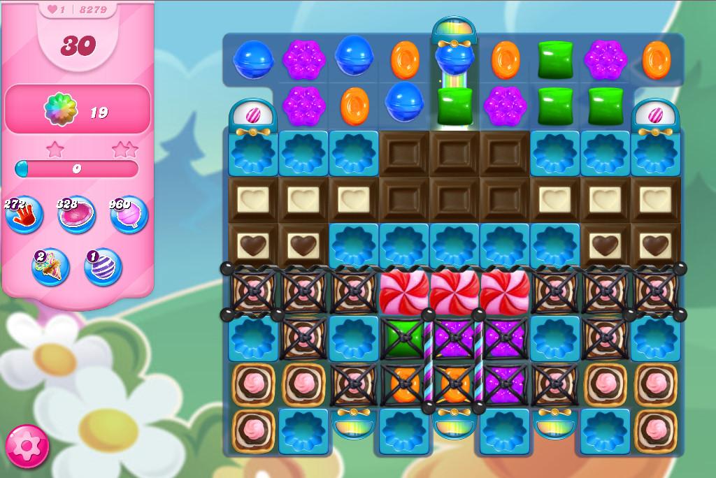 Candy Crush Saga level 8279