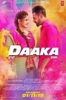 Daaka 2019 Punjabi 720p Pre-DVDRip 1.2GB