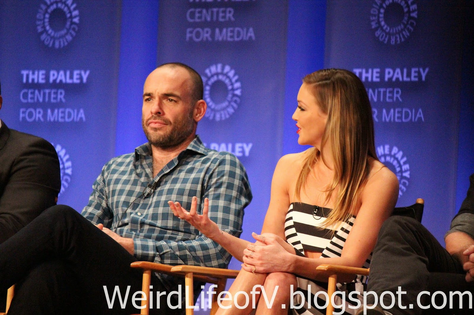 Paul Blackthorne and Katie Cassidy