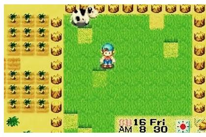 Kumpulan Cheat atau Code Breaker  Harvestmoon : Friends Of Mineral Town Super Lengkap