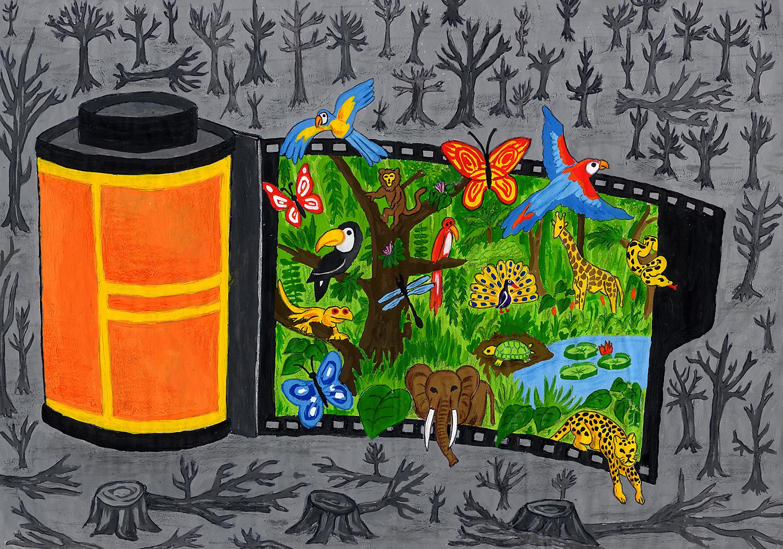 Dibujos Del Cuidado Del Medio Ambiente Finest Publicado: LA CARTILLA DIGITAL: El Mejor Dibujo De Medio Ambiente