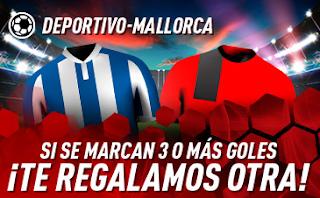 sportium promocion Deportivo vs Mallorca 20 junio 2019