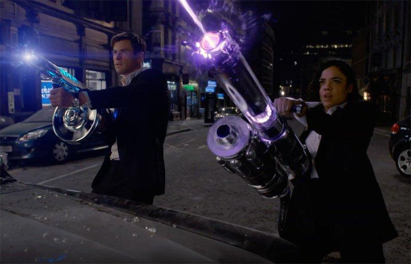 """Trailer de """"MIB: Homens de Preto - Internacional"""" coloca os revigandores em ação"""