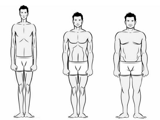 House of tiamiyu's blog: Body shapes for Men and their features
