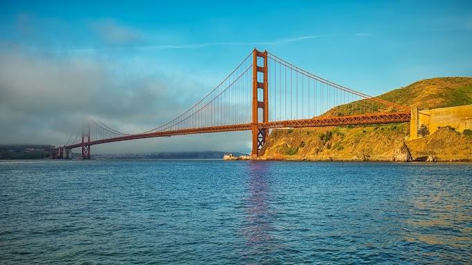 Paisagem São Francisco Ponte Golden Gate