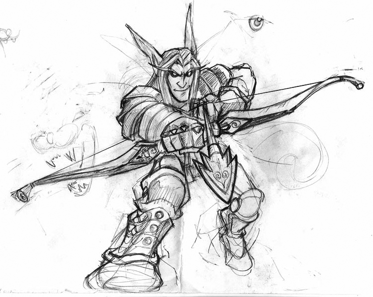 Sketches & Stuff: World of Warcraft (2)