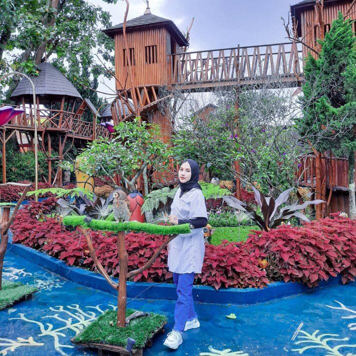Lembang Wonderland, Wisata Penuh Warna di Bandung Barat