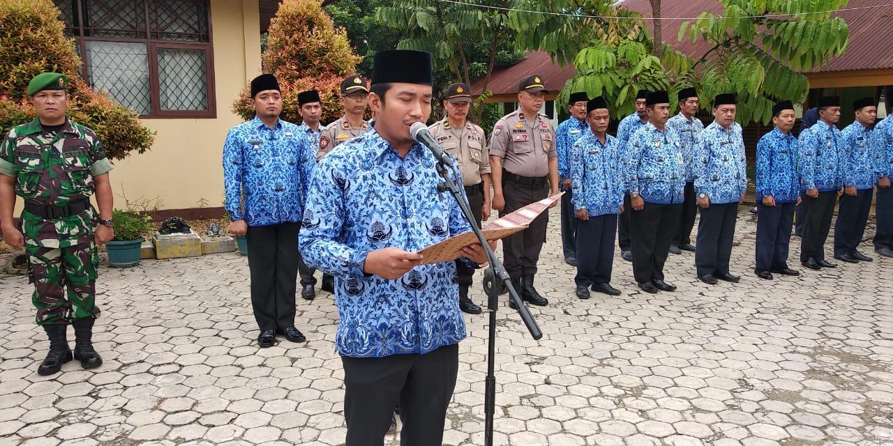 Anggota DPRD Inhu Muhammad Syafaat Ikuti Apel Hari Kesaktian Pancasila