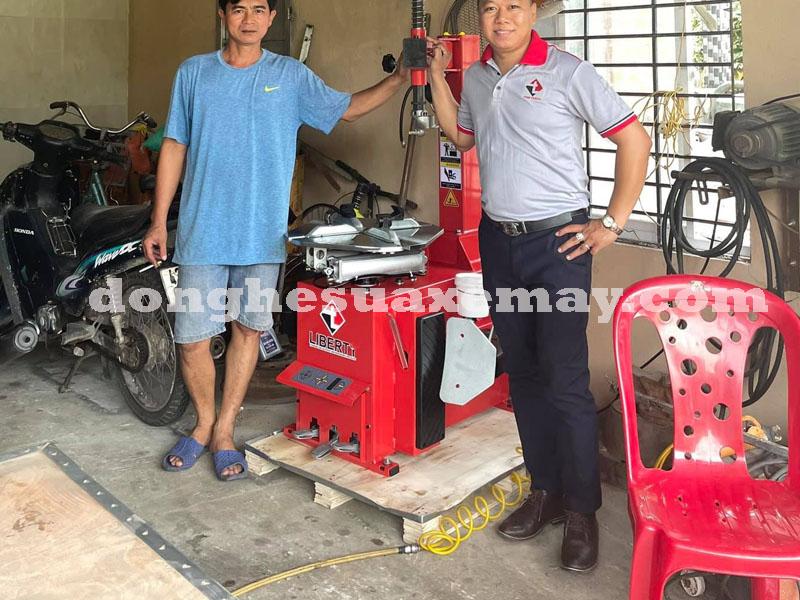 Máy ép lốp xe ga chuyên dụng giá tốt nhất