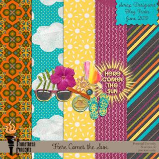 June Scrap Designers Blog Train