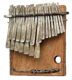 Origen e historia de las kalimbas