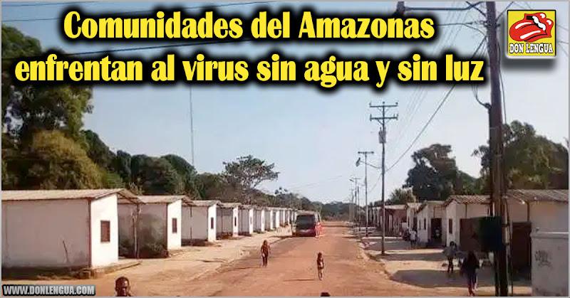 Comunidades del Amazonas enfrentan al virus sin agua y sin luz