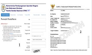 Cara Pendaftaran Online CPNS 2017 di https://sscn.bkn.go.id/