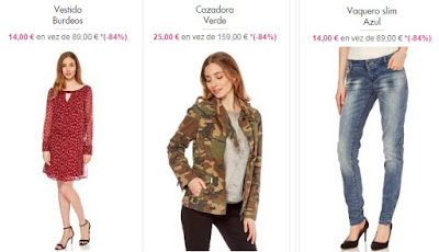ropa barata DDP