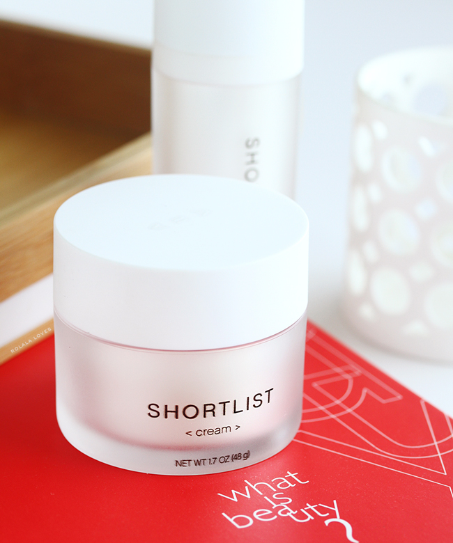 Shortlist Cream, Shortlist Beauty, Shortlist Skincare, Shortlist, Shortlist Review, Shortlist Beauty Review, Less Is More Beauty