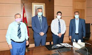 وزير التربية الوطنية  يلتقي رؤساء جمعيات آباء وأولياء التلاميذ