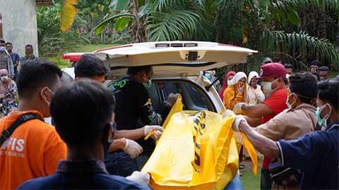 Kasus penemuan mayat dalam rumah di Jorong Ranah Mulia