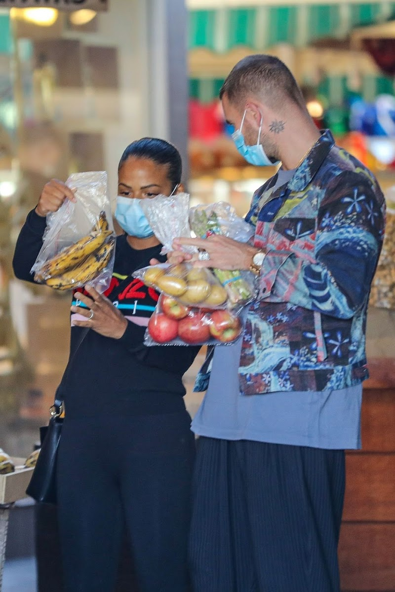 Pregnant Christina Milian Outside Shopping in West Hollywood 18 Dec-2020