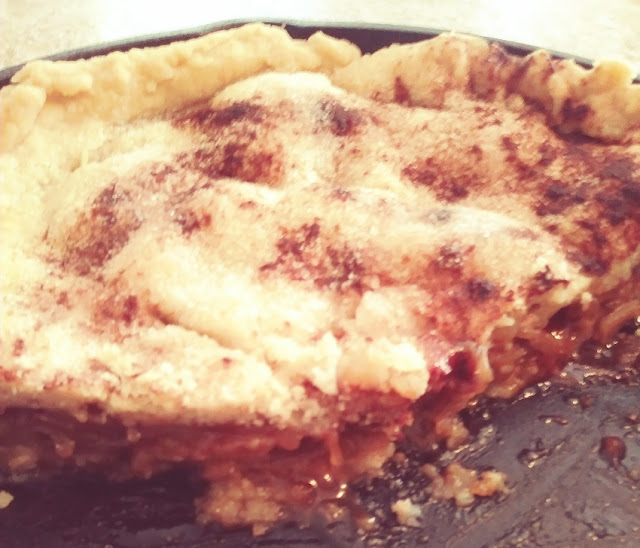 cast iron skillet apple pie recipe