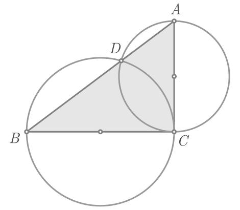 Teorema de Pitágoras baseado na potência de um ponto - Figura 6