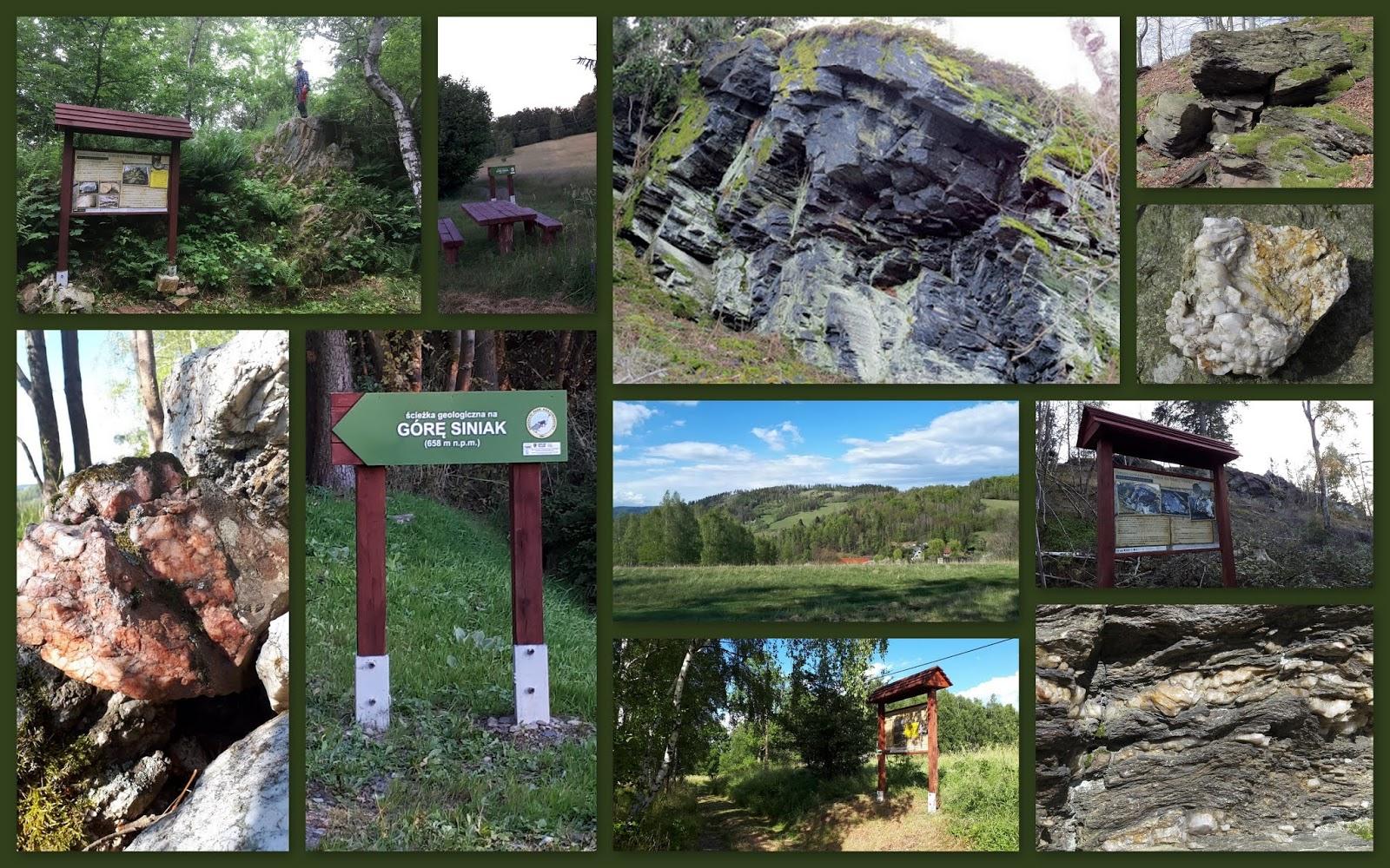 Góra Siniak - edukacyjna ścieżka geologiczna