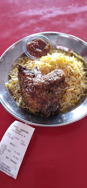 Nasi Kebuli Jordan (Tangerang); Nasi kebuli Enak Cuman 15.000!